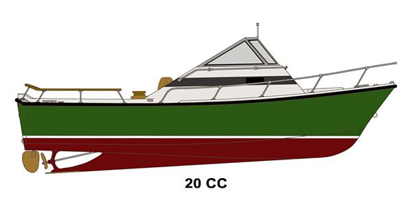 Shamrock Boats - 20 CC