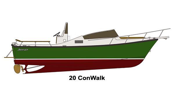 Shamrock Boats - 20 ConWalk