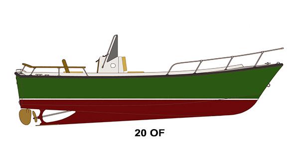 Shamrock Boats - 20 OF