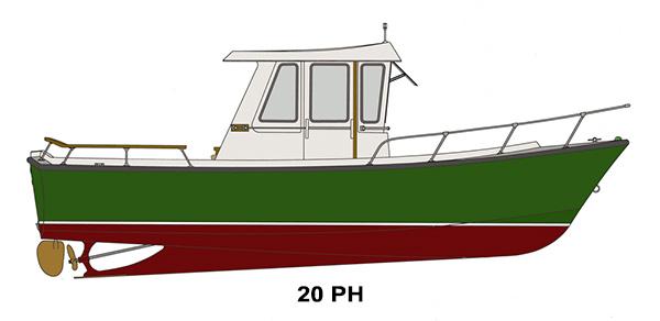 Shamrock Boats - 20 PH