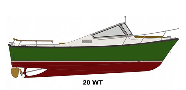 Shamrock Boats - 20 WT