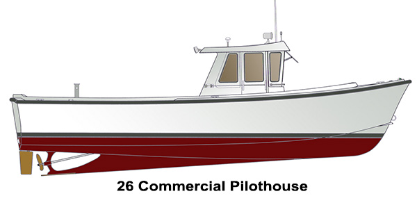 Shamrock Boats - 26 Commercial Pilothouse
