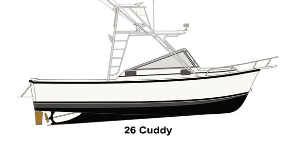 Shamrock Boats - 26 Cuddy
