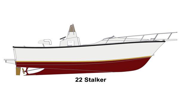 Shamrock Boats - 22ft Stalker